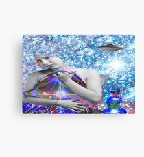 Cosmic Hitchhiker Canvas Print