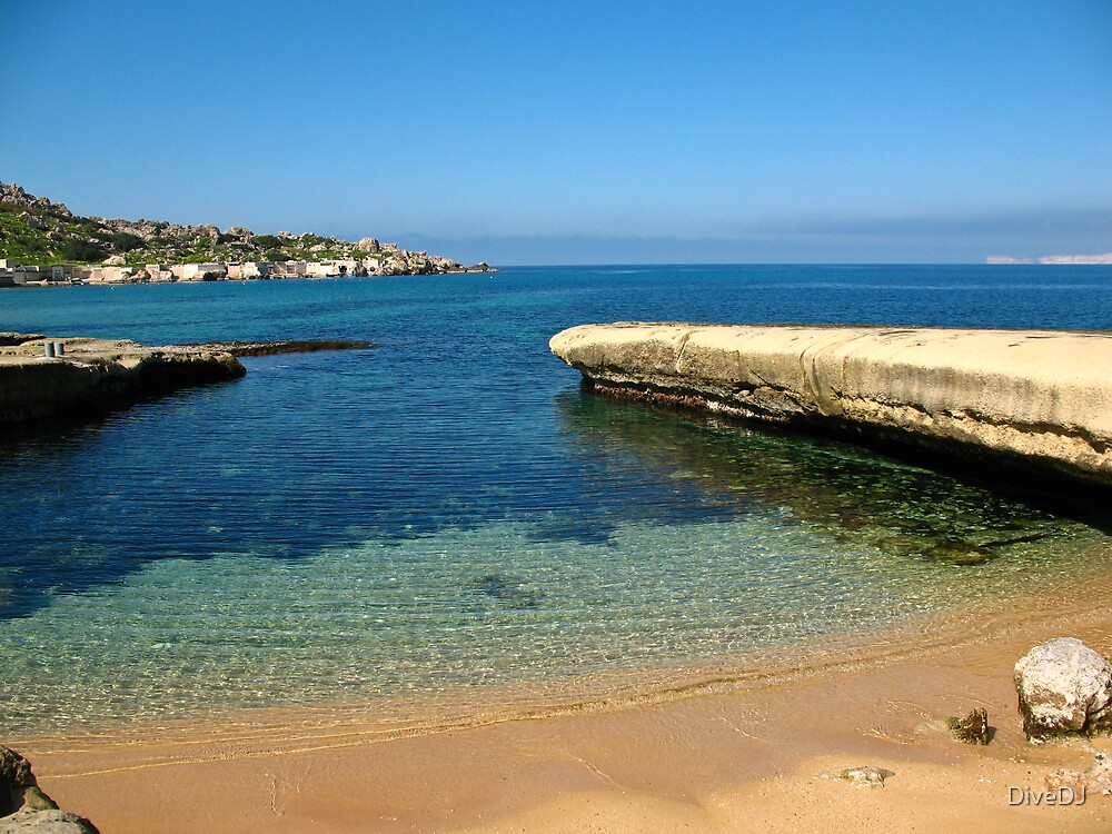 Malta Landscapes, Gnejna Bay by DiveDJ