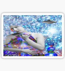 Cosmic Hitchhiker Sticker