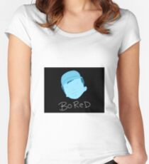 Bored Women's Fitted Scoop T-Shirt