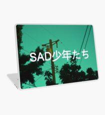 Vaporwave Sadness Laptop Skin