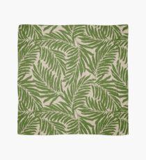 Kahanu Palms Hawaiian Linen Texture - Olive Green Scarf