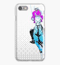 pololady blue iPhone Case/Skin