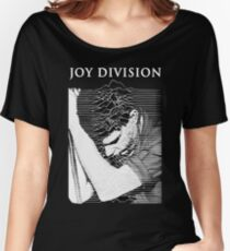 unknown pleasures (Joy division ian curtis) Women's Relaxed Fit T-Shirt