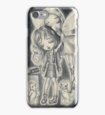 Death Makes Angels Of Us All iPhone Case/Skin