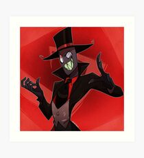 Black Hat Art Print
