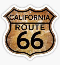 ROUTE 66 CALIFORNIA MOJAVE DESERT SANTA MONICA LOS ANGELES PASADENA BARSTOW Sticker