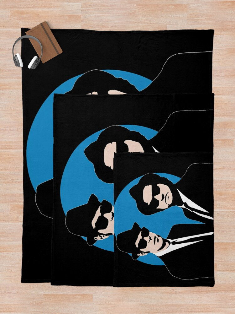 Alternate view of Blues Brothers  Throw Blanket