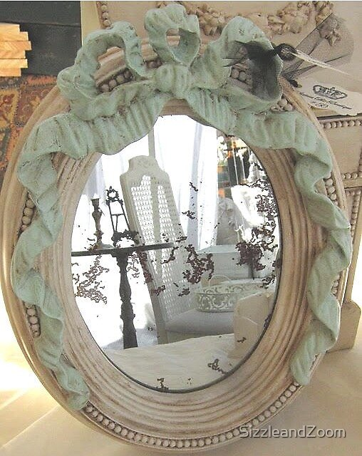 Mirror at the Vintage Market Place by SizzleandZoom