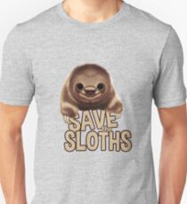SAVE THE SLOTHS Unisex T-Shirt