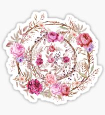 Bouquet of MOST Beautiful Vintage Rose - wreath Sticker