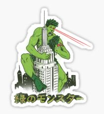 Green Monster Sticker