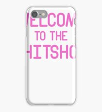 Pink Typography iPhone Case/Skin