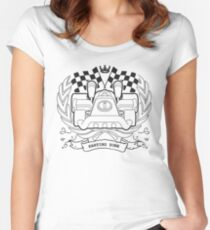 Karting Zone Women's Fitted Scoop T-Shirt