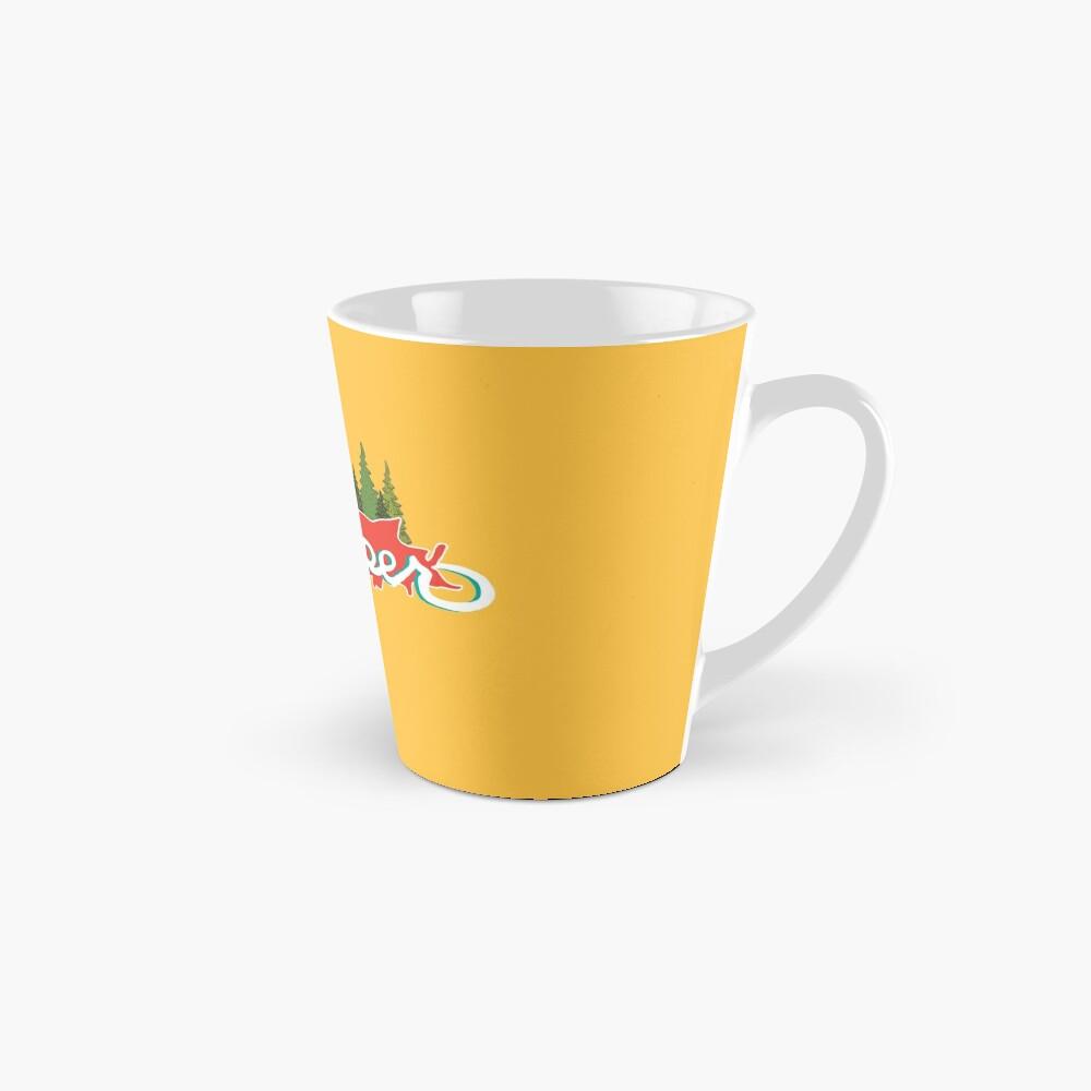Yooper - Rot und Gelb Tasse