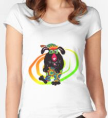 Feestbeest! Women's Fitted Scoop T-Shirt
