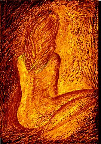 Orange nude by cathyjane