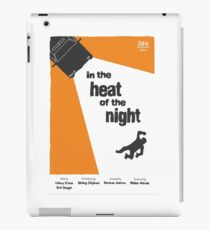 In The Heat Of The Night Saul Bass style poster  iPad Case/Skin