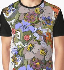 Bright floral ornamental in frieze Graphic T-Shirt
