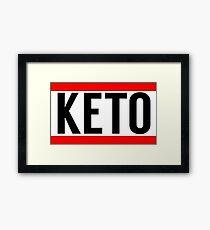 Keto Framed Print
