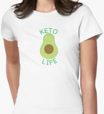 Keto Life Womens Fitted T-Shirt