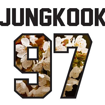 BTS Jersey - Jungkook by eveningshadow