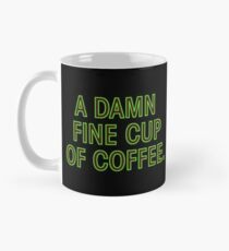 Twin Peaks - A Damn Fine Cup Of Coffee Mug