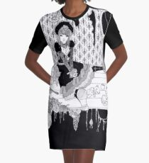 Gothic Lolita Graphic T-Shirt Dress
