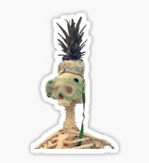 The Pineapple King Sticker