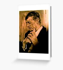 William F. Buckley, Jr    1925 - 2008 Greeting Card