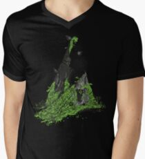 Silent Decay Mens V-Neck T-Shirt