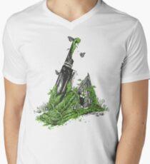 Silent Decay Men's V-Neck T-Shirt