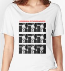 The Expressions of Tucker Carlson Women's Relaxed Fit T-Shirt
