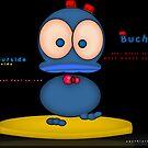 buchidu - the blue duck philosopher  by Beo Lo