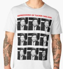 The Expressions of Tucker Carlson Men's Premium T-Shirt
