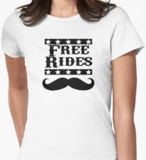 Free Rides Womens Fitted T-Shirt