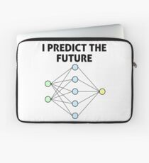 Neural Network Machine Learning: Predict The Future! Laptop Sleeve