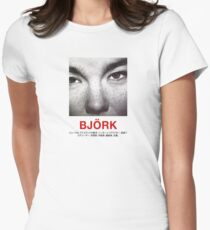 Bjork Women's Fitted T-Shirt