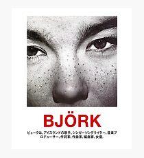 Björk Fotodruck