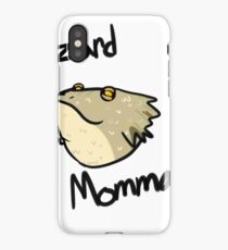Lizard Momma iPhone Case/Skin