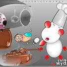 kiki cooking  by Beo Lo