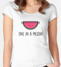You're ONE in a MELON!  Women's Fitted Scoop T-Shirt