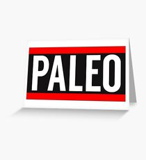 Paleo Greeting Card