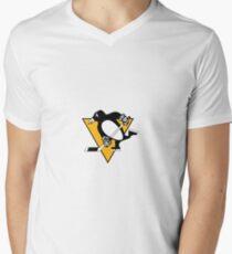 Pittsburgh Penguins Logo Men's V-Neck T-Shirt