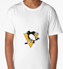 Pittsburgh Penguins Logo Long T-Shirt
