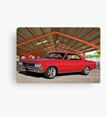1966 Chevelle Malibu SS I Canvas Print