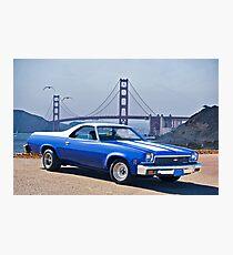 1973 Chevrolet El Camino II Photographic Print