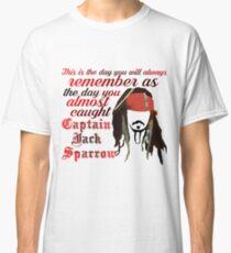 Captain Jack Sparrow Classic T-Shirt
