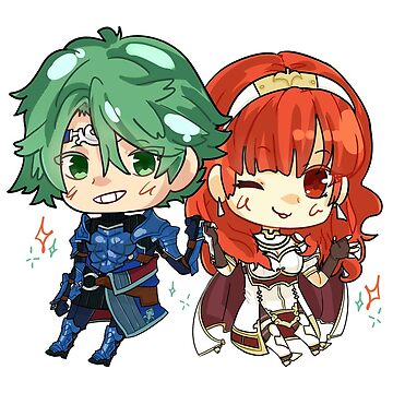 Alm & Celica - Fire Emblem Echoes by xSkred