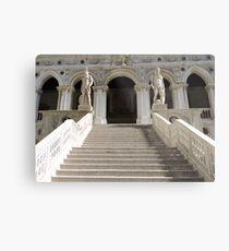Venetian Steps Metal Print